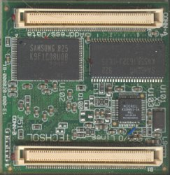 bottom side of an SA2410E Medallion CPU Module