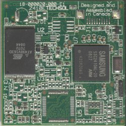 top side of an SA2410E Medallion CPU Module
