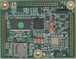 top side of a TSCM-233 Medallion Touch Screen Computer Module